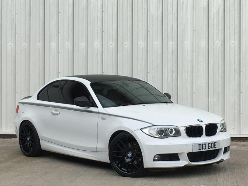 bmw 118 2 0td 2011my d m sport in white red leathers px swap finance available in accrington. Black Bedroom Furniture Sets. Home Design Ideas