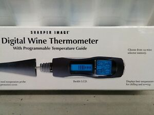 Sharper Image Digital Wine Thermometer - BRAND NEW Peterborough Peterborough Area image 7