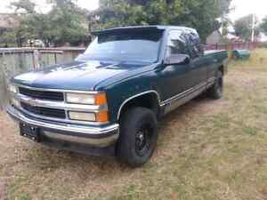 95 chevy extended cab 4x4 $800
