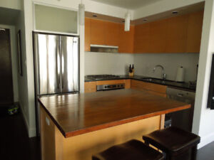 Corner Suite Furnished Yaletown Vancouver Condo
