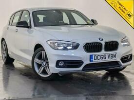 image for 2017 66 BMW 118D SPORT 5 DOOR HATCHBACK SAT NAV CLIMATE CONTROL SERVICE HISTORY