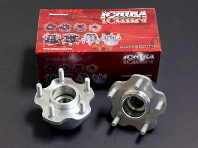 Ichiba Front 4 to 5 Lug 5x114 Wheel Conversion Adapter Kit for 240SX S13 (4 Lug To 5 Lug Conversion 240sx)