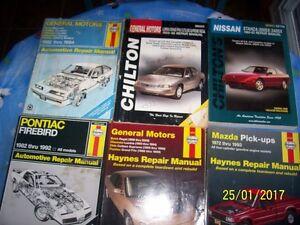 Haynes & Chilton's  Manuals