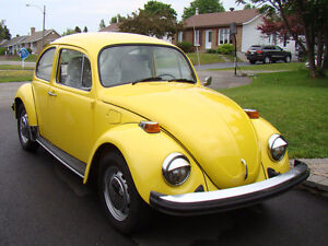 1974 Volkswagen Beetle Coupé (2 portes)