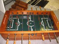 Hardvard wood foosball table 4 sale