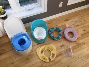 Petits pots / Toilettes pour enfants