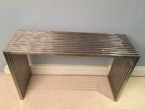 """Serving table 29"""" high x 16"""" deep x 48"""" wide"""