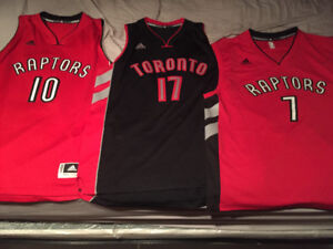 3 Authentic Retro Raptors Jerseys! (All 3 For $100) *NEW*