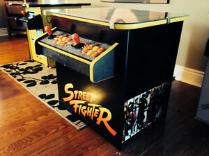 Street Fighter Multi-Game Arcade Machine - Plays 645 Games!