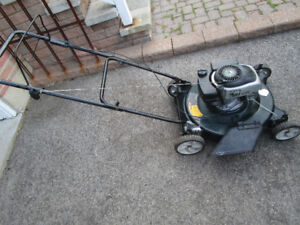 LAWN MOWER 4..5 HP NEEDS HANDLE REPLACE OR WELDED