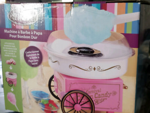 Used cotton candy maker