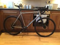 On One Pickenflick CX1 - Size XL - £1,100 - Titanium Cyclocross