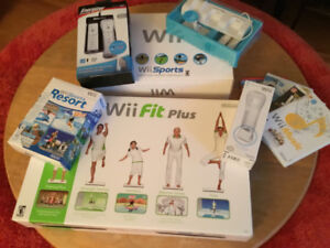 Wii + Wii Fit Plus + Wii Sports + Wireless Charge