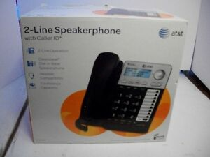 AT&T ML17929 2-Line Corded Speakerphone With Caller ID/Call Wait