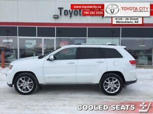 2014 Jeep Grand Cherokee SUMMIT  - Navigation - $252.44 B/W