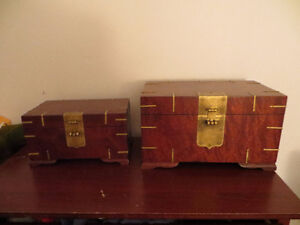 Wooden antique jewelery boxes for sale Gatineau Ottawa / Gatineau Area image 1