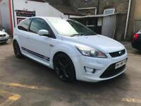 2010 FORD FOCUS 2.5 ST-3 SIV 3 DOOR HATCHBACK WITH OVER £1855 POUNDS UPGRADES