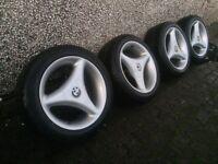 "BMW 3 spoke 15"" rare wheels 5x120 e30 e36"