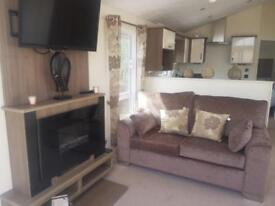 Delta Seren. Beautiful Holiday Lodge For Sale Decking & 2018 Site Fees Included