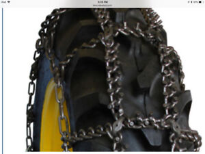Tractor Ice Chains