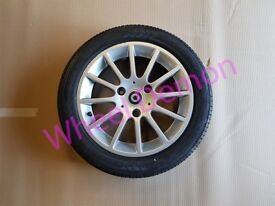 X1 Smart Car Fortwo Front Alloy Wheel