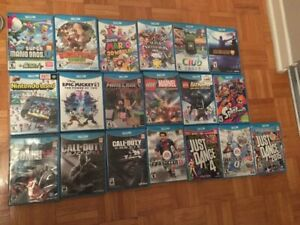 CHECK SEPERATE PRICE IN ADS DETAIL WII U GAMES AND PROCONTROLLER