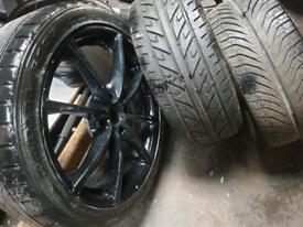 "17"" vauxhall corsa clio mini alloy wheels"