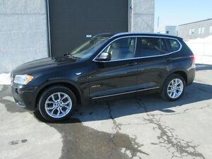 BMW X3 2013 XDRIVE 2.8i TECH PACK GPS TOIT PANO VOLANT CHAUFFANT