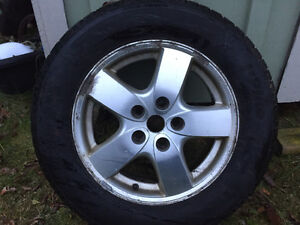 winter tires and rims 215 65r 16 for sale