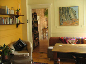 Gorgeous Mile-End furnished 5 1/2 year sublet
