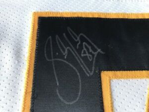SIDNEY CROSBY JERSEY SIGNÉ SIGNED CERTIFIÉ PITTSBURGH PENGUINS