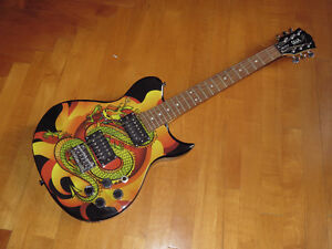 GEORGE WASHBURN LIMITED VINCE NEIL EDITION ELECTRIC GUITAR