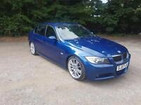 2007/07 BMW 330D M Sport Auto Full Service History Drives Superb P/X Welcome