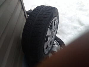 4 winter rims and tires 205/60/16 $250 obo