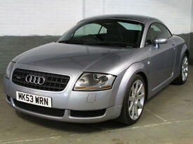 2003 '53' AUDI TT 1.8 T 225 Bhp QUATTRO COUPE AWD * XENONS * 1 Owner * BOSE *