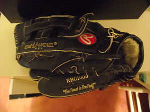 LEFT HANDER'S GLOVE IF YOU THROW THE BALL WITH YOUR LEFT HAND.