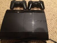 JUST REDUCED PRICE - PS3 500 GB, 2 controllers, 4 games
