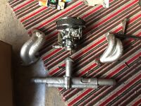Vw T2 1600 complete carb and manifold H30/31pict