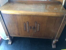 Old wooden unit