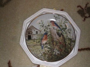 "Franklin Mint ""The Old Barnyard"" plate"