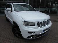2015 Jeep Grand Cherokee V6 CRD SUMMIT Diesel white Automatic