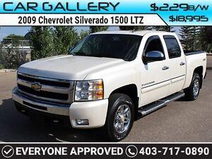 2009 Chevrolet Silverado 1500 LTZ CREW w/Sunroof, Leather, $229B