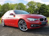 BMW 3 SERIES 2.0 320i Sport Auto 4dr (start/stop) (red) 2016