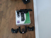 XBOX 360 + Kinect + 2 manettes + 1 volant