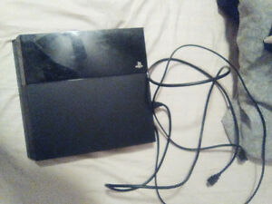 PS4 for sale with everything for it
