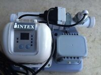 New intex salt system for above ground pool
