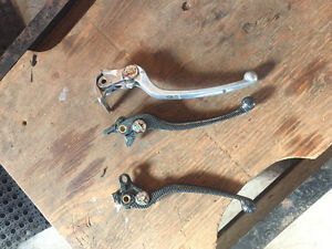 Brake and clutch handles