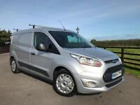 2014 Ford Transit Connect 1.6TDCi 95PS 210 L2 Trend Lwb 56th Miles Silver met