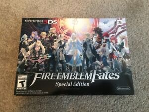Fire Emblem Fates Special Edition BRAND NEW, SEALED! MINT!