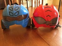 Power Rangers Walkie-Talkie Helmets